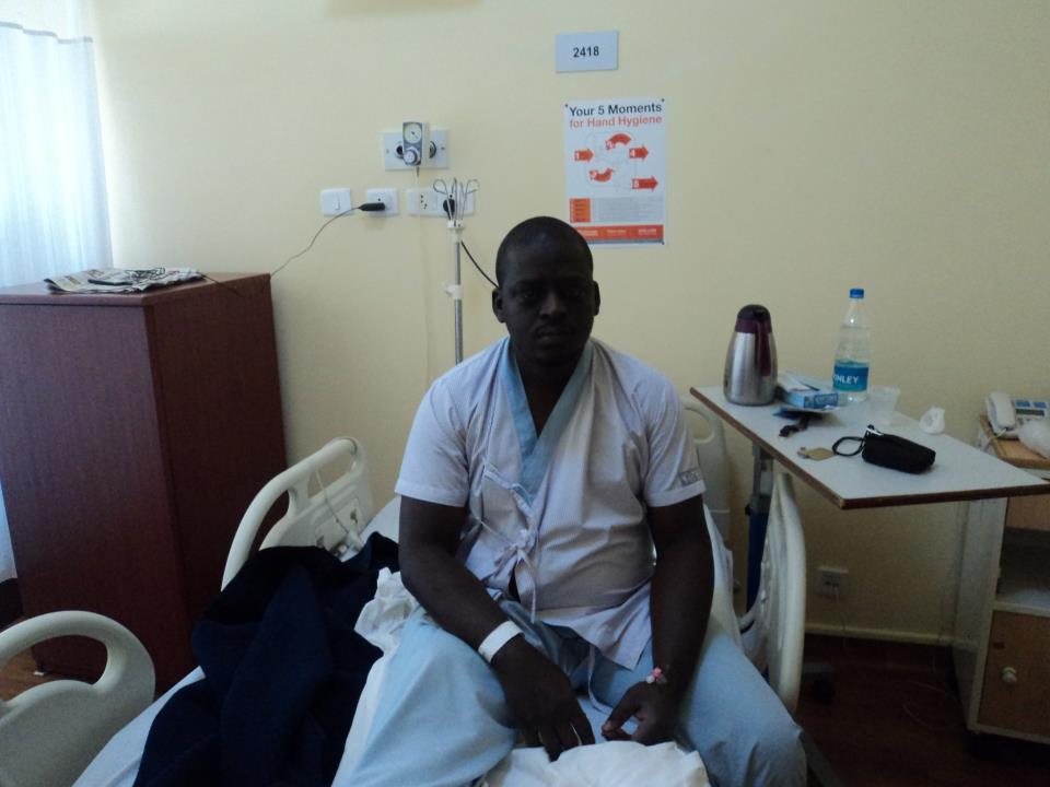 Nigeria Patient in Artemis Hosiptal for Coronary Angiography