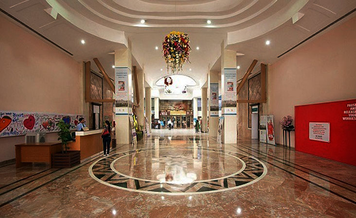 Apollo Hospitals, Indraprastha, New Delhi Reception