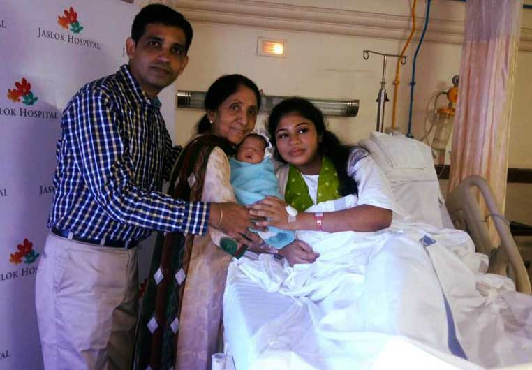 Indias firts ivf baby turned 32 names Harsha shah in mumbai delivered by dr Indira hinduja