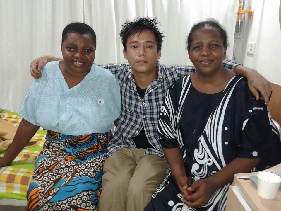 Nigerian Patient in Apollo Hospitals, Greams Road Chennai