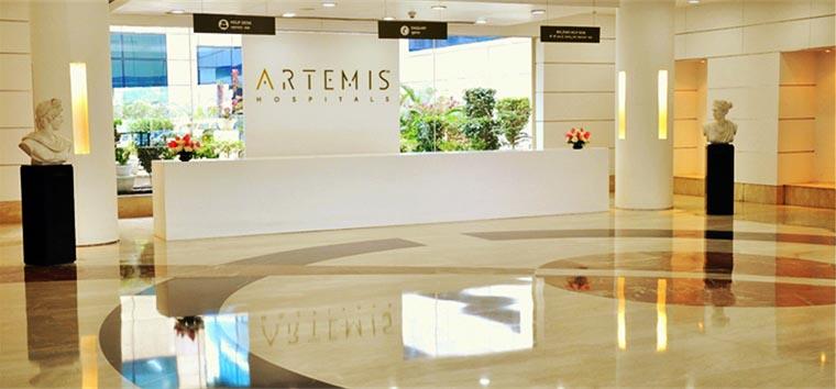 Artemis Hospital, Atrium Gurgaon, India